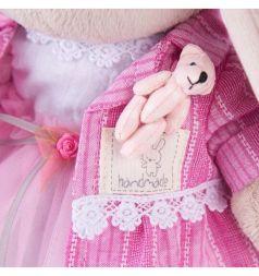 Мягкая игрушка Budi Basa Зайка Ми розовый бутон 32 см