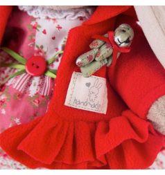 Мягкая игрушка Budi Basa Зайка Ми маково-красный 32 см