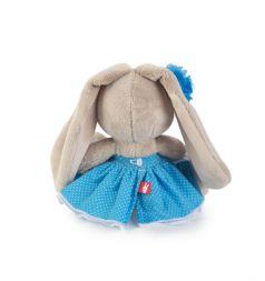 Мягкая игрушка Budi Basa Зайка Ми в голубом сарафане 15 см