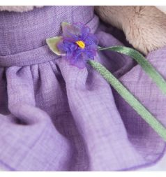 Мягкая игрушка Budi Basa Зайка Ми в платье с цветочком 15 см