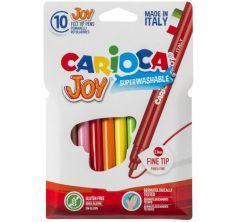 Фломастеры Carioca 10 цветов Joy
