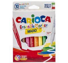 Фломастеры Carioca 9+1цв. стират. карт./уп. Bravo-Laster Universal