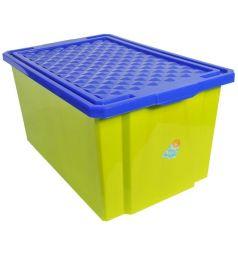 Ящик для хранения Little Angel 1019LA-GR, цвет: зеленый