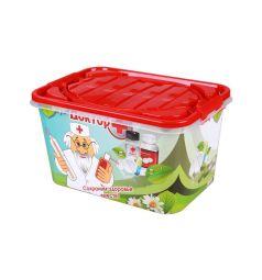 Ящик для игрушек Альтернатива Доктор+