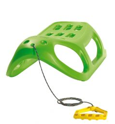 Санки Prosperplast Little Seal, цвет: зеленый