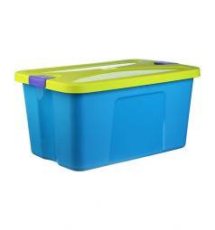 Ящик для игрушек Idea Секрет, цвет: бирюзовый