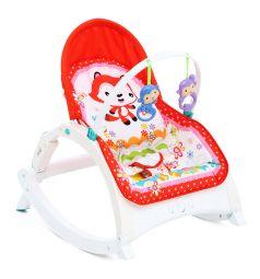 Шезлонг Corol R1 fox, цвет: красный