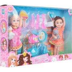 Набор кукол 1Toy Красотка-mini 2 шт 11 см