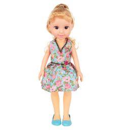 Кукла No Name Летняя прогулка Красотка в голубом платье 36 см