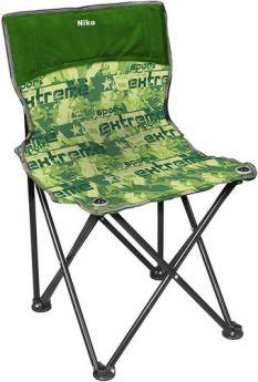 Ника Стул Походный Премиум 2, цвет: экстрим/зеленый