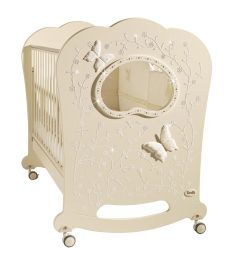Кровать Feretti Oblo Charme Brillante, цвет: avorio/ivory