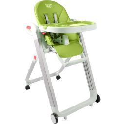 Стульчик для кормления Nuovita Futuro Bianco, цвет: зеленый