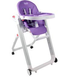 Стульчик для кормления Nuovita Futuro Bianco, цвет: фиолетовый
