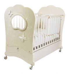 Кровать Feretti Fms Oblo Charme Brillante, цвет: avorio/ivory