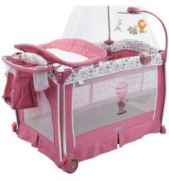 Кровать-манеж Nuovita Fortezza, цвет: сиреневый