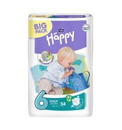 Подгузники Bella Baby Happy Junior Extra (от 16 кг) 54 шт.