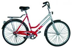 Велосипед Top Gear Luna 50, цвет: красный