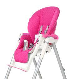Чехол сменный Esspero к стульчику для кормления Peg-Perego Diner Bright, цвет: pink