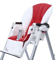 Чехол сменный Esspero к стульчику для кормления Peg-Perego Diner Sport, цвет: white/red