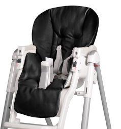 Чехол сменный Esspero к стульчику для кормления Peg-Perego Diner, цвет: Black