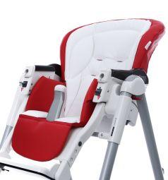 Чехол сменный Esspero к стульчику для кормления Peg-Perego Best Sport, цвет: red/white