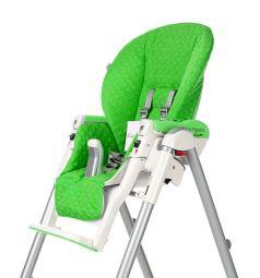 Чехол сменный Esspero к стульчику для кормления Peg-Perego Diner Bright, цвет: green