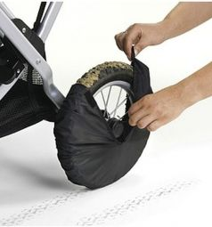 Чехлы для колес Esspero универсальные, цвет: Black