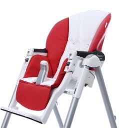 Чехол сменный Esspero к стульчику для кормления Peg-Perego Diner Sport, цвет: red/white