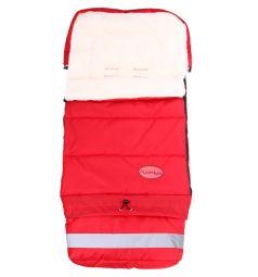 Leader Kids Конверт в коляску Трансформер 103 х 50 см, цвет: красный