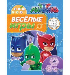 Раскраска PJ Masks Герои в масках Веселые игры синяя