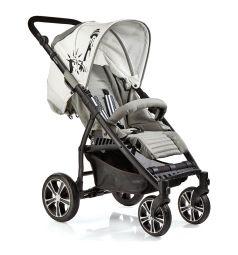 Прогулочная коляска Gesslein S4 Air+, цвет: серый меланж/серый