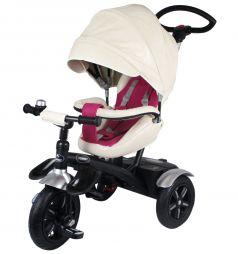 Детский трехколесный велосипед Tommy Prestige, цвет: белый