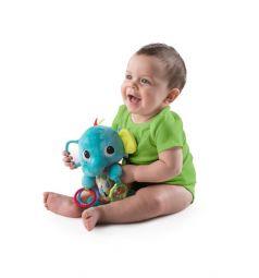 Мягкая игрушка-погремушка Bright Starts Ласковый слоник