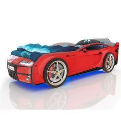 Кровать-машинка Romack Kiddy, цвет: красный