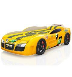 Кровать-машинка Romack Renner 2, цвет: желтый