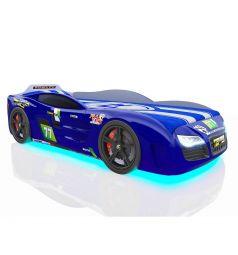 Кровать-машинка Romack Renner 2, цвет: синий