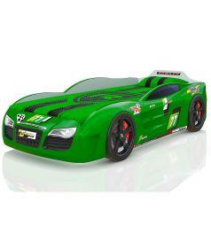 Кровать-машинка Romack Renner 2, цвет: зеленый