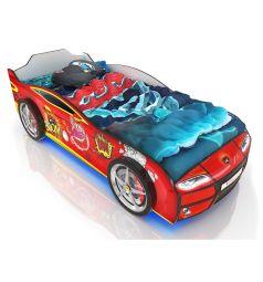 Кровать-машинка Romack Kiddy Бум, цвет: красный