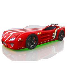 Кровать-машинка Romack SportLine, цвет: красный