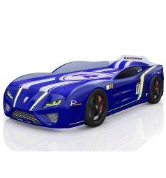 Кровать-машинка Romack SportLine, цвет: синий