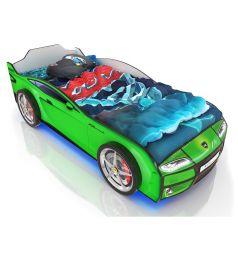 Кровать-машинка Romack Kiddy, цвет: зеленый