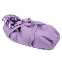 Коляска для кукол Wakart Майя Фиолетовый с животными
