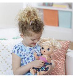 Кукла Малышка хочет есть со звуком (ест и писает) 33 см Baby Alive