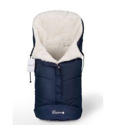 Конверт в коляску Esspero Sleeping Bag White, цвет: Navy