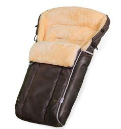 Конверт в коляску Esspero Lukas Lux, цвет: brown