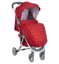 Прогулочная коляска Corol S-9, цвет: красный