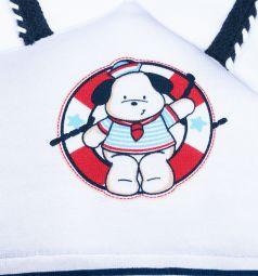 Комбинезон Leader Kids 'Морские игры', цвет: белый/синий