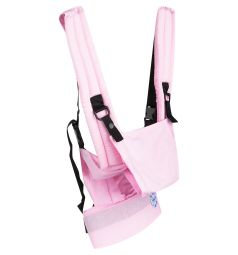 Slingme Рюкзак-кенгуру, цвет: розовый