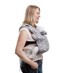 Slingme Рюкзак-кенгуру, цвет: серый
