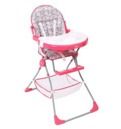 Стульчик для кормления Polini Disney 252, цвет: принцесса/розовый